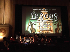 Legong, Dance of the Virgins at the San Francisco Silent Film Festival, July 20, 2013. Gamelan Sekar Jaya, Club Foot Orchestra